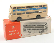 Wiking HO 1:87 Berliner Doppeldeck Bus Nr.72d 1970s *BOXED* (5)