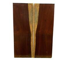 Figured Cocobolo Rosewood Classical Guitar Back/OM Set #26 Luthier Tonewood