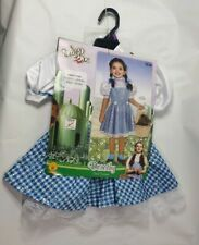 The Wizard Of Oz Dorothy Toddler Halloween Costume 2t-3t Sequin Dress & Hair Bow