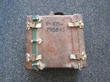 New ListingDesert Storm Iraqi R-105 Soviet made bakelight radio