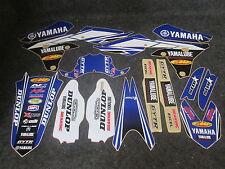 Yamaha YZF250 YZF450 2014-2017 Star Racing USA Team graphics + plastics GR1435