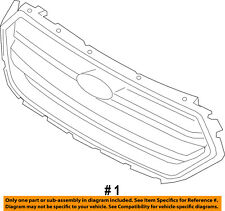 FORD OEM 17-18 Escape Front Bumper Grille Grill-Grille GJ5Z8200AA