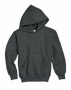 Hanes Youth Sweatshirt Pullover Hoodie ComfortBlend EcoSmart Unisex Boys Girls