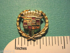Cadillac crest   cutout -   hat pin , lapel pin , tie tac , hatpin GIFT BOXED jb