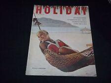 1958 NOVEMBER HOLIDAY MAGAZINE - SIESTA IN MAZATLAN - NICE FRONT COVER - F 3301