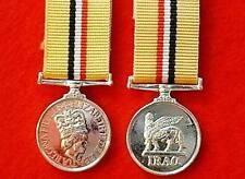 Quality OP/Telic Iraq Miniature Medal Gulf War 2 Medal Iraq Miniature Medals