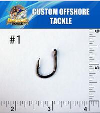 1000 Size #1 4x Strong Custom Offshore Live Bait Hooks