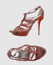 NIB ROGER VIVIER python leather sandals 39