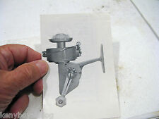 NO. 800    ????  spinning reel -  OLD FOLDOUT USED - COLLECTOR