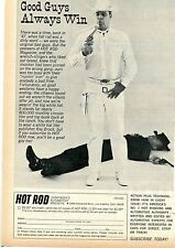 1966 Hot Rod Magazine Good Guys Always Win Cowboy Shootout Subscription Offer Ad