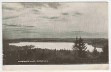 Monadnock Lake Dublin New Hampshire 1907c postcard