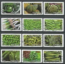 ˳˳ ҉ ˳˳FR53 France Nature,Vegetables, Fruits & Plants 2012  complete set 12 used