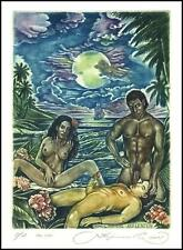 Kirnitskiy Sergey 2005 Exlibris C4 Erotic Erotik Nude Nudo Sex Sea Ship 101
