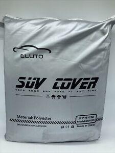 Eluto SUV Car Cover - Waterproof All Weather Breathable Outdoor Indoor SUV(M)