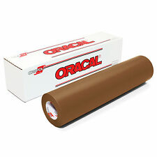 ORACAL 631 Adhesive Backed Matte Vinyl 12in x 10ft Roll - BROWN