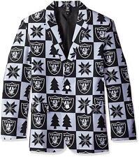 New Oakland LA Raiders Sport Jacket Coat Size L (44) Super Fan Jersey Hat S26