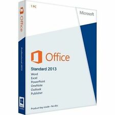 OFFICE 2013 STANDARD- 3PC - LICENCIA ORIGINAL- ESPAÑOL