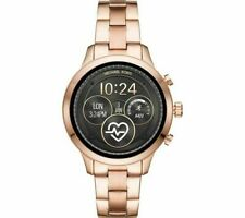 Michael Kors MKT5046 Smart Watch Watch Watch Stainless Steel Rosegold New