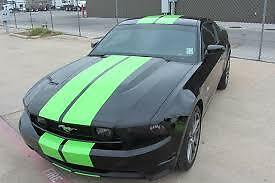 Genuine 3M 1080-M196 Matte Apple Green Twin Stripes kit for Ford Mustang 2015+