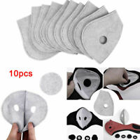 10pcs Activated Carbon Anti Dust Motorcycle Bicycle Cycling Skiing Face Filter