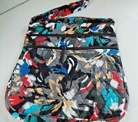 Vera Bradley Hipster Crossbody Purse Bag - Splash Floral  Pattern   NWT