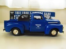ERTL - WIX FILTERS - 1951 FORD F-1 PICKUP SERVICE TRUCK - 1/25 DIECAST BANK
