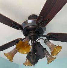 """Hampton Bay 52"""" Ceiling Fan Chapelle by Dale Tiffany"""