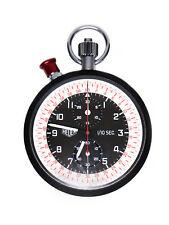 Heuer - Leonidas Steel & Aluminum Split Second Chronograph Race Timer (22185)