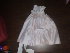 BOUTIQUE STRASBURG SILK 6 GIRLS GORGEOUS PINK DRESS