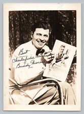 BUDDY MORENO Vintage CHESTERFIELD CIGARETTE Signed BIG BAND AUTOGRAPH PHOTO