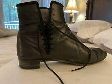 Robert Land Wm Sz 10 Side-lace Boot