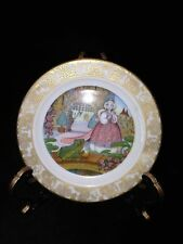 "'THE FROG PRINCE' COLLECTOR'S PLATE 3"" BONE CHINA  signed Carol Lawson 1979"