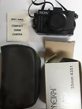 Vintage Meikai 35mm Camera 4351V With Box Manual And Case