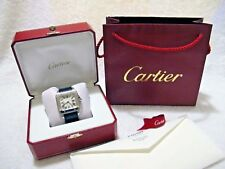 Cartier Santos 100 Large  Automatic Watch 2017 SERVICED By Cartier Dealer