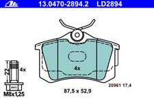 Bremsbelagsatz Scheibenbremse ATE Ceramic - ATE 13.0470-2894.2