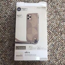 Moshi Altra Case, Wrist Strap for iPhone 11 Pro Max, SnapTo, Sahara Beige