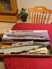 USS ENTERPRISE MONOGRAM 3700 PLASTIC MODEL KIT 1/400 SCALE DETAILED