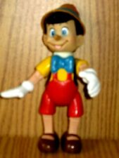 Vintage Pinocchio Pvc Figure 6 Inches Tall Used