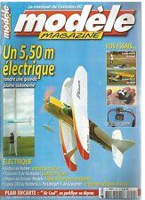 MODELE MAG N°652 PLAN : AIR COOL / AIRBULL DE ROBBE / TWINSTAR II DE MULTIPLEX