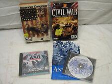Civil War Strategy Computer Games Divided Nation Antietam PC General Lee