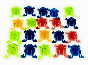 20 x JUMPING FROGS TOY TIDDLYWINK BOYS GIRLS FAVORS BIRTHDAY PARTY BAG FILLERS