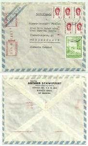 BF 019 - Reco-Luftpost-Brief aus Argentinien nach Deutschland 1976