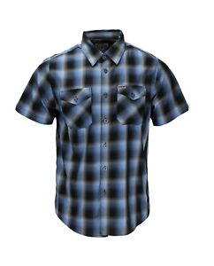 """Dixxon flannel 💥""""ATLANTIC""""💥 LARGE. SHORTSLEEVE BAMBOO. NEW IN PACKAGE."""