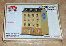 Model Power 1540 Apartment House Building N Scale *SEALED*