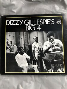 Dizzy Gillespie Gillespie's Big 4 Digitally Remastered Dissy  Gillespy CD Four