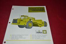 Terex S-24B Scraper Pan Dealer's Brochure DCPA6