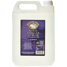 White Vinegar 4 x 5 Litre Fast Delivery 20L Total Cleaning Stain Remover Cooking