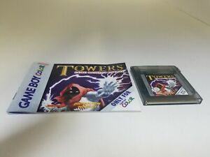 NEW Towers Lord Baniff's Deceit Cartridge & manual for Gameboy color No Box S7