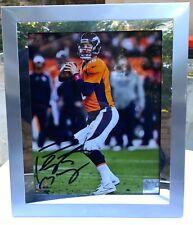 Peyton Manning auto (autographed) photo Denver Broncos framed NFL authenticated