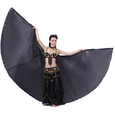 Women Professional Belly Dance Costume Isis Wings 360 Angle Wings & Sticks